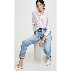 Frank & Eileen Barry Striped Button Down Shirt